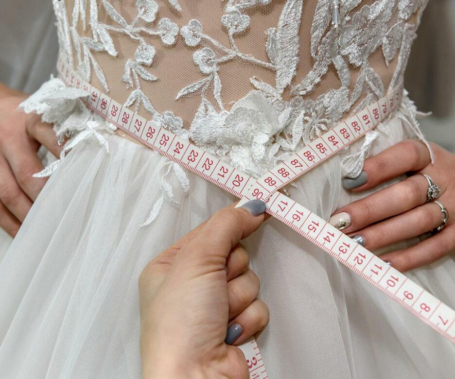 Bridal Way wedding dress measuring